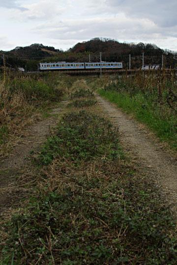 綾川橋梁をゆく電車 20系