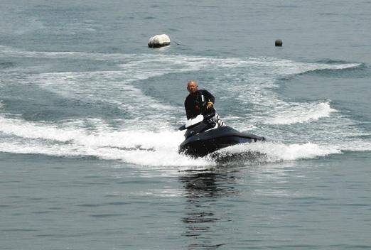 海上スクーター おらん家の海を楽しむ ・・